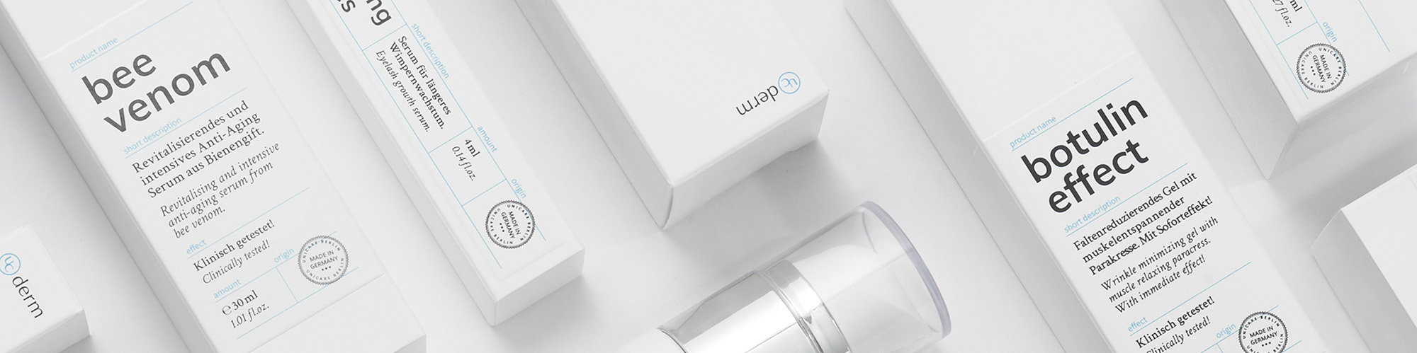 Cover picture of the UniCare product page UCderm botulin effect, the Bio Botox with paracress